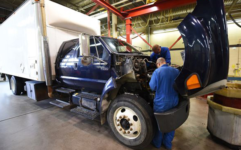 Truck Repairs Loan